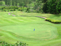 Golf land Stock Photo