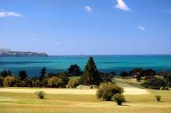 Golf - le parcours ouvert Image libre de droits
