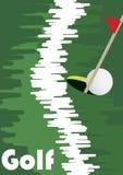 Golf line Royalty Free Stock Image