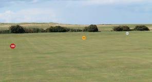 Golf Links Driving Range. Stock Photo