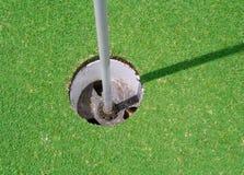 Golf-Loch Lizenzfreies Stockbild