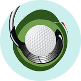 Golf Logo Royalty Free Stock Photography
