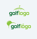 Golf logo Stock Image