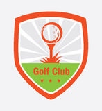 Golf logo design Royalty Free Stock Photography