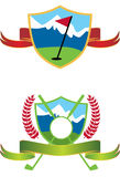 Golf Logos Royalty Free Stock Photos