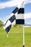 Golf-Markierungsfahne stockbild