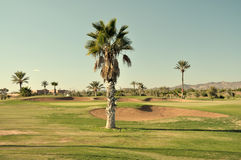 golf Marrakech de cours image stock