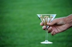 Golf martini 4a Stock Image