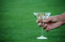 Golf martini 4a Stock Image