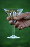 Golf martini 5 Stock Photos