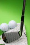 Golf-Material Lizenzfreies Stockbild