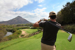 Golf in Mauritius Stock Photo