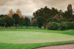 Golf meadow Royalty Free Stock Photos