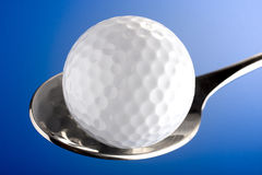 Golf meal Stock Images