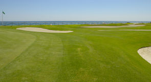 Golf in Mediterranean sea Stock Photography