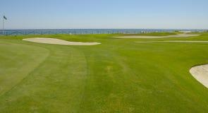 Golf in Mediterranean sea Stock Photography
