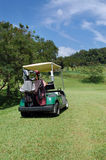 Golf met fouten Stock Foto's