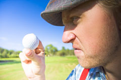 Golf Mid Game Crisis Stock Photography