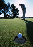 Golf moments stock images