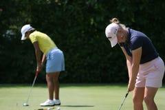 Golf Morgan-Pressel Evian erarbeitet 2006 lizenzfreies stockbild