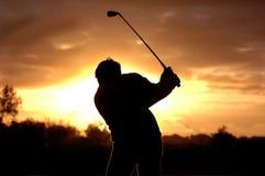 golf morgonen Arkivfoton