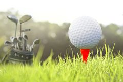golf na trójniku zdjęcia royalty free