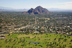 Golf near Camelback Mountain Stock Photos