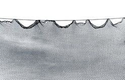Golf Netting shot in black and white Stock Photography