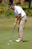 Golf - Nuno CAMPINO, POR Photographie stock