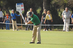 Golf - Nuno CAMPINO, POR Royalty Free Stock Photo