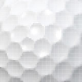 Golf o fundo da textura de mosaico ilustração stock