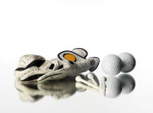 Golf objects Stock Photography