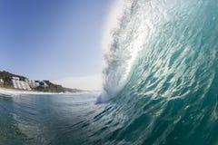 Golf Oceaanwater Stock Afbeelding