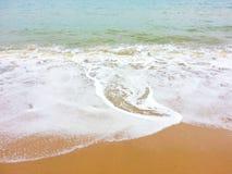 Golf op het strand Royalty-vrije Stock Afbeeldingen