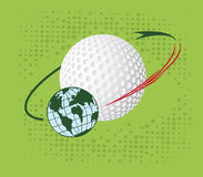 Golf orbit Stock Photos