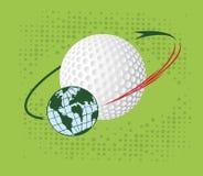 Golf orbit Stock Photos