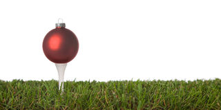 Golf ornament Royalty Free Stock Images