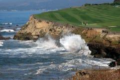 Golf par la mer 5 images libres de droits