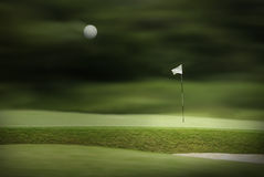 Golf park Stock Images