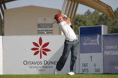 Golf - Pelle EDBERG, SWE Stock Images