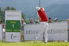 Golf PGA, CELADNA, CZECH REPUBLIC Royalty Free Stock Photos