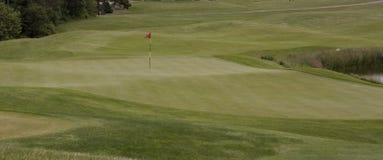 Golf Pin Royalty Free Stock Photos