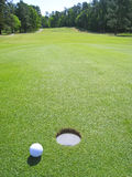 Golf pitch Royalty Free Stock Images