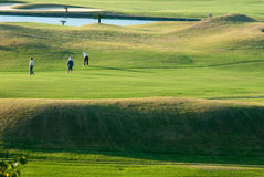 Golf place. For background use Royalty Free Stock Photo
