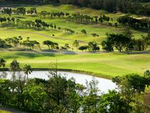 Golf place. For background use Royalty Free Stock Photos