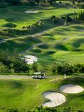 Golf place. For background use Royalty Free Stock Photography