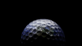 Golf planet Royalty Free Stock Image