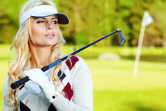 Golf player Stock Images
