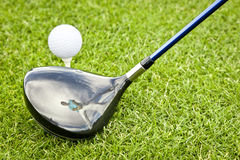 Golf player Royalty Free Stock Photography