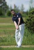 Golf player Stock Image